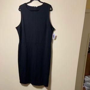 NWT XXL Tall blk sleeveless dress